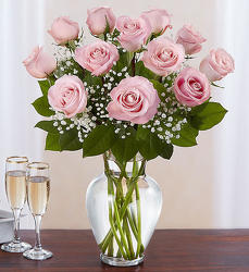 Pink Rose Bouquet from Clermont Florist & Wine Shop, flower shop in Clermont