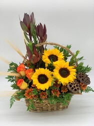 Autumn Picnic from Clermont Florist & Wine Shop, flower shop in Clermont