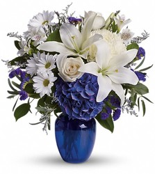 Beautiful in Blue from Clermont Florist & Wine Shop, flower shop in Clermont