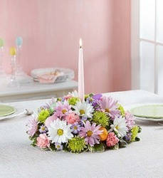Easter Centerpiece from Clermont Florist & Wine Shop, flower shop in Clermont