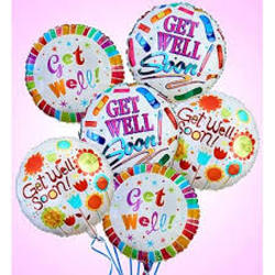 Get Well Balloon Bouquet from Clermont Florist & Wine Shop, flower shop in Clermont