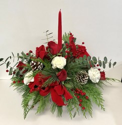 Holiday Peace Bouquet from Clermont Florist & Wine Shop, flower shop in Clermont