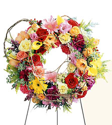FTD Ring of Friendship Wreath from Clermont Florist & Wine Shop, flower shop in Clermont