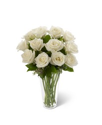 The White Rose Bouquet from Clermont Florist & Wine Shop, flower shop in Clermont