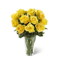 The Yellow Rose Bouquet from Clermont Florist & Wine Shop, flower shop in Clermont