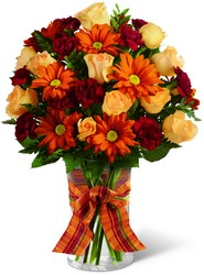 Golden Autumn Bouquet from Clermont Florist & Wine Shop, flower shop in Clermont