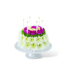 Wonderful Wishes Floral Cake from Clermont Florist & Wine Shop, flower shop in Clermont
