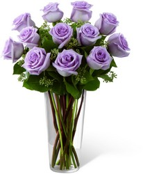 Lavender Rose Bouquet from Clermont Florist & Wine Shop, flower shop in Clermont