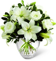 White Elegance Bouquet by Vera Wang from Clermont Florist & Wine Shop, flower shop in Clermont