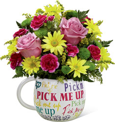 The FTD Pick-Me-Up Bouquet from Clermont Florist & Wine Shop, flower shop in Clermont