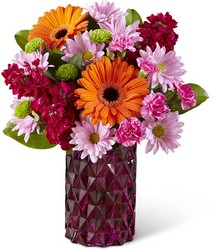 Brightly Bejeweled Bouquet from Clermont Florist & Wine Shop, flower shop in Clermont