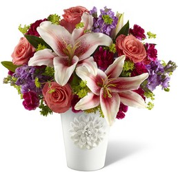 California Chic Bouquet for Kathy Ireland Home from Clermont Florist & Wine Shop, flower shop in Clermont
