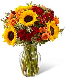 Fall Frenzy Bouquet from Clermont Florist & Wine Shop, flower shop in Clermont