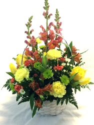 Spring Basket Mix by Clermont Florist from Clermont Florist & Wine Shop, flower shop in Clermont