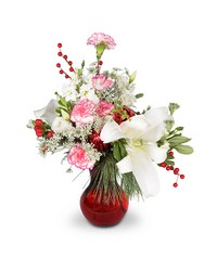 Merry, Berry Romance from Clermont Florist & Wine Shop, flower shop in Clermont