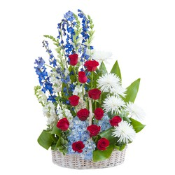 Honor Basket Tribute from Clermont Florist & Wine Shop, flower shop in Clermont