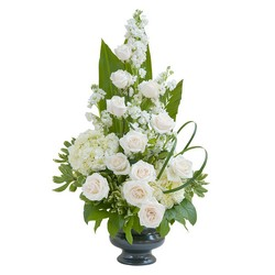 Elegant Love Urn from Clermont Florist & Wine Shop, flower shop in Clermont