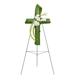 Elegant Love Graceful Cross from Clermont Florist & Wine Shop, flower shop in Clermont