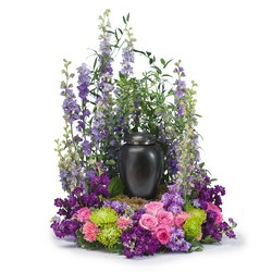 Forever Cherished Surround from Clermont Florist & Wine Shop, flower shop in Clermont