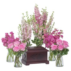 Surrounded by Love in Pink from Clermont Florist & Wine Shop, flower shop in Clermont