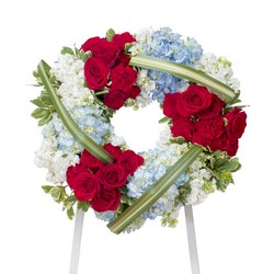 Honor Wreath from Clermont Florist & Wine Shop, flower shop in Clermont