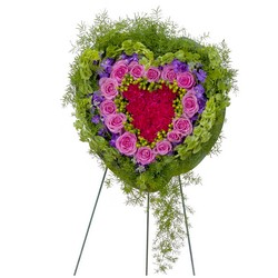 Forever Cherished Heart from Clermont Florist & Wine Shop, flower shop in Clermont