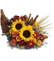 Classic Cornucopia from Clermont Florist & Wine Shop, flower shop in Clermont