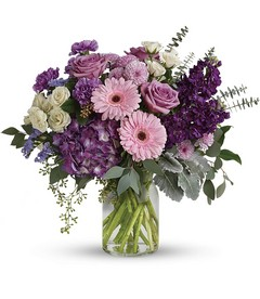 Magnificent Mauves Bouquet from Clermont Florist & Wine Shop, flower shop in Clermont