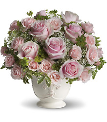Teleflora's Parisian Pinks from Clermont Florist & Wine Shop, flower shop in Clermont