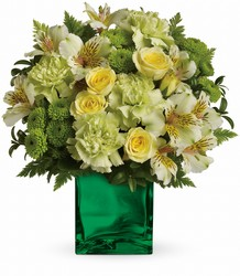 Emerald Elegance Bouquet from Clermont Florist & Wine Shop, flower shop in Clermont