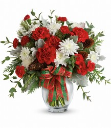 Holiday Shine Bouquet from Clermont Florist & Wine Shop, flower shop in Clermont
