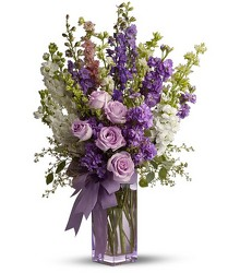 Teleflora's Pretty in Purple from Clermont Florist & Wine Shop, flower shop in Clermont