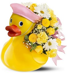 Just Ducky Bouquet - Girl from Clermont Florist & Wine Shop, flower shop in Clermont