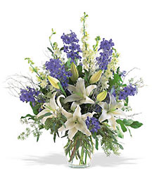 Hanukkah Arrangement from Clermont Florist & Wine Shop, flower shop in Clermont